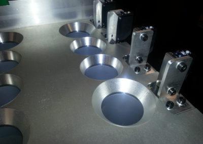 aluminiumbovenplaatverdeeltafel